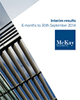Interim Results Presentation (30th September 2014)